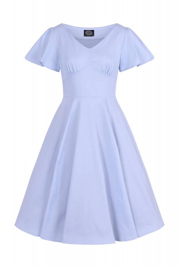 H&R utsvingt kjole Bella, lysblå