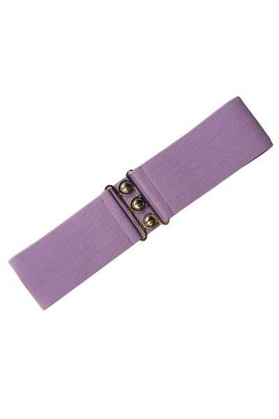 Hell Bunny Belte Lavendel Strikk